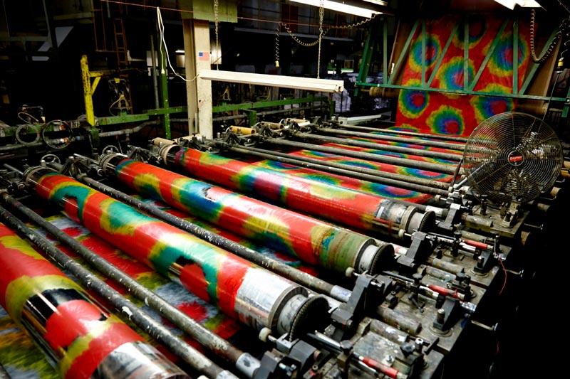 screen print press machine