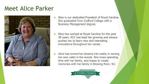 meet our staff - alice